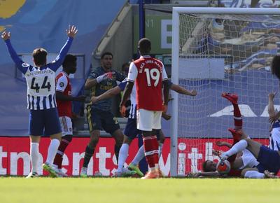 Brighton noquea al Arsenal en el epílogo