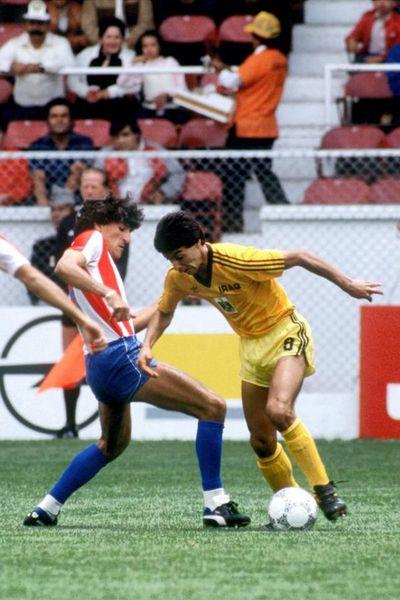 Covid-19 se lleva a iraquí que jugó ante Paraguay en 1986