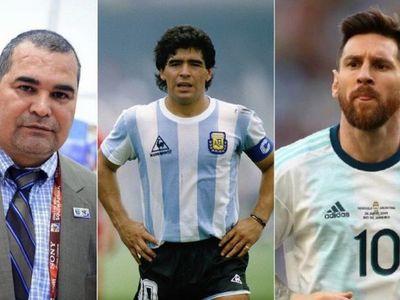 Chilavert elogia a Leo Messi y lo distancia de Maradona
