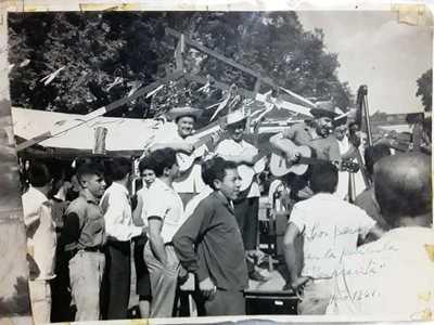 Lo días que Luis Alberto del Paraná visitó San Lorenzo