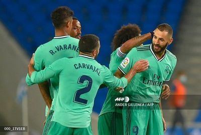 Real Madrid cumple y vuelve a ser líder