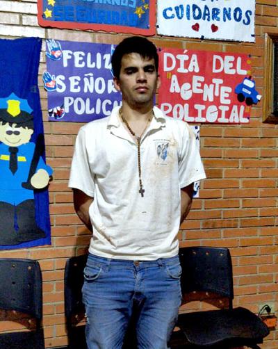 Detienen a sujeto que trató de matar a un comerciante en el Paraná Country Club