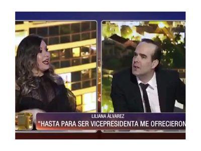"""Liliana: """"Me ofrecieron para ser vicepresidenta"""""""