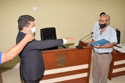San Ignacio; Roberto Fernández juró como nuevo concejal municipal
