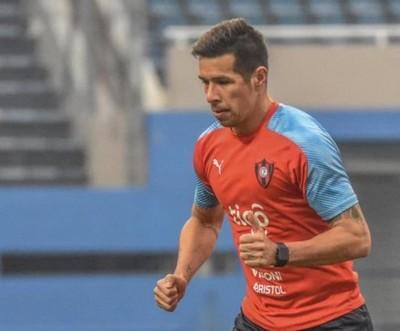 Víctor Cáceres, ante una nueva página en su carrera