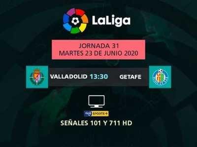 Valladolid recibe a Getafe por La Liga