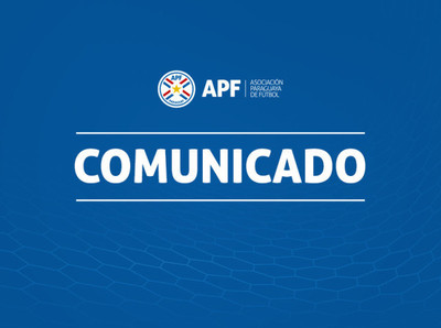 APF agradece el apoyo de CONMEBOL