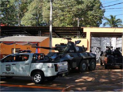 Tensión en cárcel de Ciudad del Este tras protesta de miembros del PCC