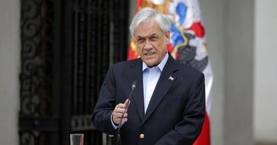 Polémica de presidente chileno por acudir a funeral de familiar, víctima de COVID-19