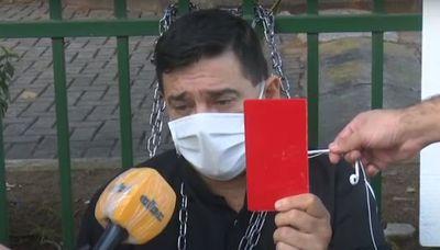 """Denuncian al senador Buzarquis por """"incitar"""" a la gente a levantarse contra el Gobierno"""