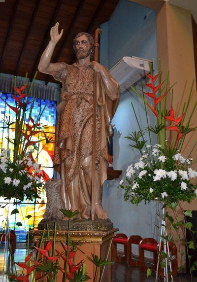 Atípico festejo patronal en San Juan Bautista, Misiones