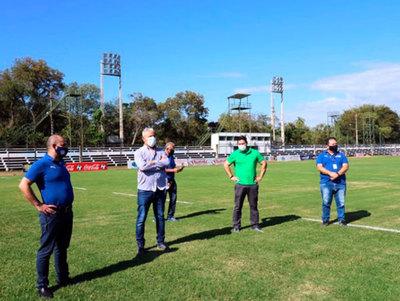 La APF finaliza la inspección de estadios en Villarrica
