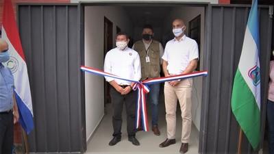 Ministro inauguró oficialmente ampliación en el Hospital Materno Infantil de Villa Choferes