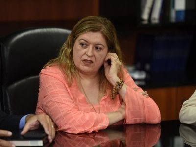 Sandra Quiñónez, con pasivo cero según sus declaraciones juradas