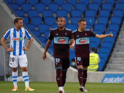 Resumen del partido Real Sociedad 0-1 Celta de Vigo