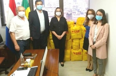 Consulado paraguayo en Brasil prosigue con provisión de cestas básicas