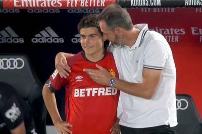 Luka Romero hace historia en la Liga Española