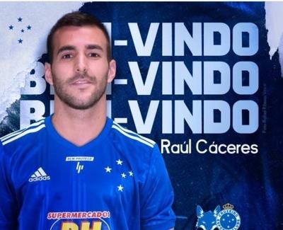 HOY / Cruzeiro hace oficial el fichaje de Raúl Cáceres