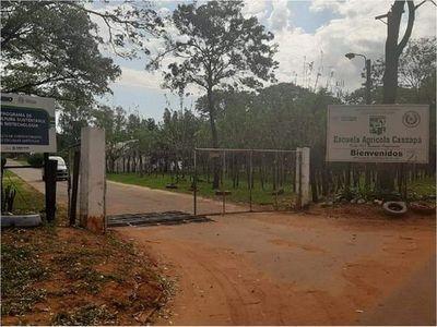 Caazapá: Escuela agrícola fue adaptada para albergar a 30 personas