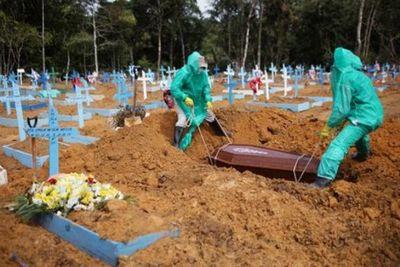 Brasil registró 1.185 muertos y 42.725 nuevos casos de coronavirus en las últimas 24 horas