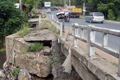 Reconstruirán  puente de  San Antonio