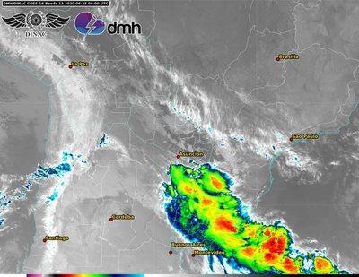 Frente frío: lluvias, tormentas y descenso de temperatura