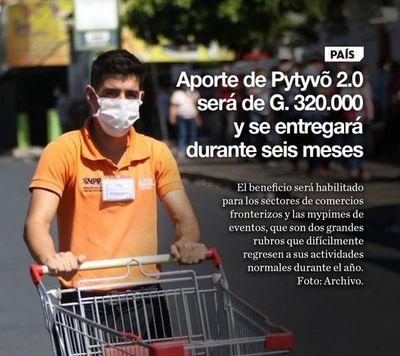 Aporte de Pytyvõ 2.0 será de G. 320.000 y se entregará durante seis meses