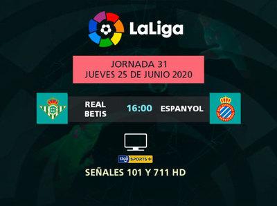 Betis recibe a un necesitado Espanyol