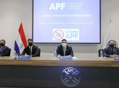 APF tendrá un manual para la reanudación del torneo