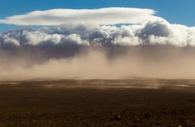 Densa nube de polvo del desierto del Sáhara llega a Latinoamérica
