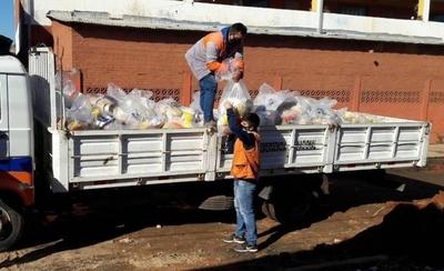 HOY / SEN distribuyó más de 2 millones de kilos de alimentos durante la cuarentena