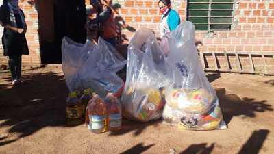 SEN garantiza distribución de kits alimenticios durante la pandemia