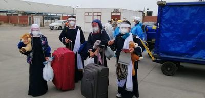Unos 120 paraguayos regresan desde Perú