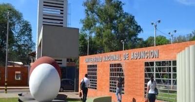 Docentes de la UNA expresaron su descontento contra Benigno López