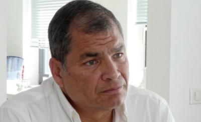 HOY / Rafael Correa anuncia candidatura para la vicepresidencia en Ecuador