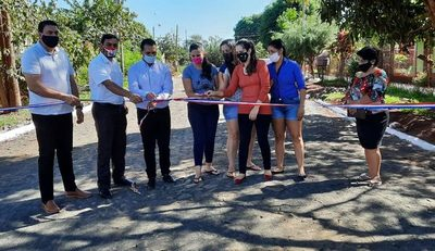Clementino inaugura tramo de empedrado en barrio Limoy – Diario TNPRESS