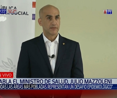 Julio Mazzoleni: ''Estimo que hoy reportaremos 140 positivos''