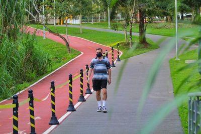 Poca asistencia tras reapertura del Parque Lineal