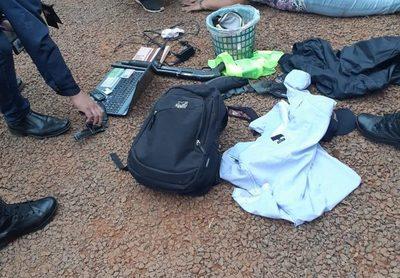 Capturan a asaltantes en un motel mediante GPS instalado en uno de los celulares robados
