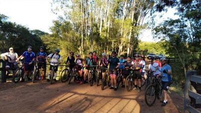 Paraguay Bikes realizó tour ciclístico por Pedro Juan Caballero