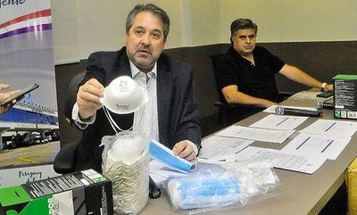 Tapabocas de oro: confirman arresto domiciliario para extitular de la Dinac