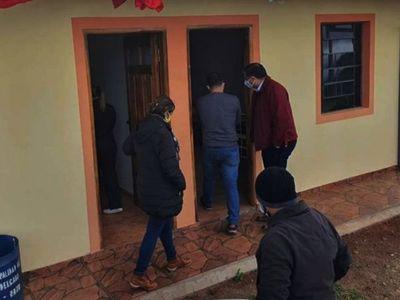 Verifican los albergues en Natalio, General Delgado  y María Auxiliadora