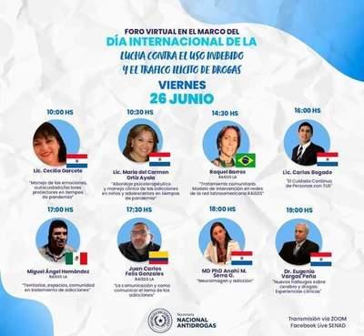 SENAD Evoca Día Internacional de Lucha Contra el Uso y el Tráfico de Drogas