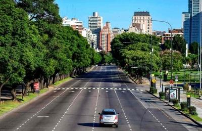Gobierno argentino extendió cuarentena en el AMBA