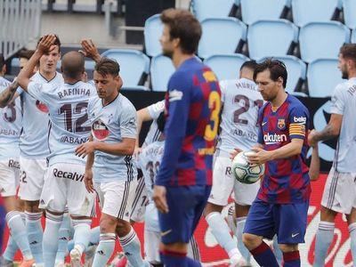 Iago Aspas frustra al Barcelona