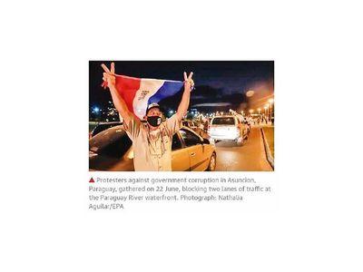 Medio británico ve a Paraguay como país plagado de corruptos