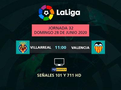 Villarreal y Valencia van por puntos de clasificación