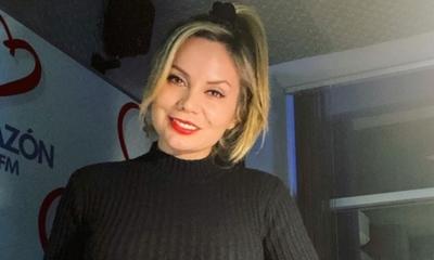Dahiana Bresanovich, de paseo con alguien muy especial