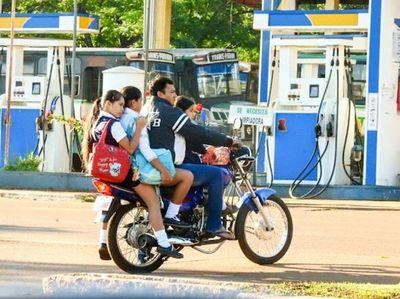 CRIMINAL: Usan moto como TRANSPORTE ESCOLAR