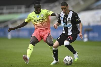 El City supera al Newcastle de Almirón y se instala en las semifinales de la FA Cup